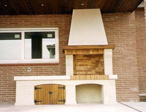 modelo fornells barbacoa rustica modelo palma60 - Barbacoas De Obra Modernas